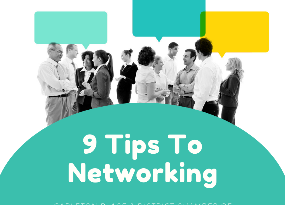 9 Tips To Networking