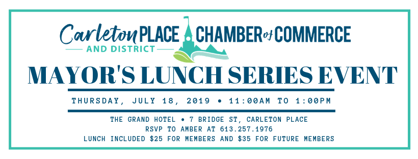 Mayor's Lunch Series Event
